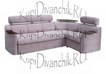 Угловой диван Лючиана с полкой