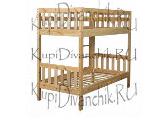 Двухъярусная кровать Ладушка Эко
