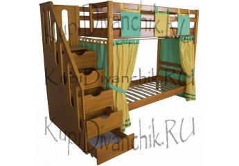 Двухъярусная кровать Альпинист
