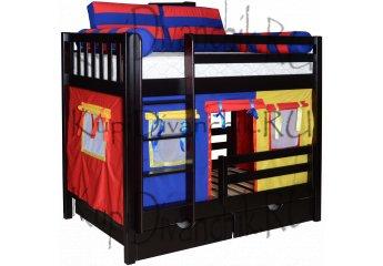 Двухъярусная кровать Галчонок-1