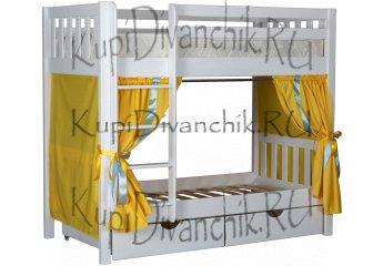 Двухъярусная кровать Галчонок-7