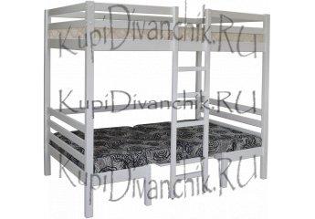 Кровать-трансформер двухъярусная Друзья