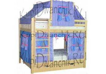Двухъярусная кровать Скворушка-3