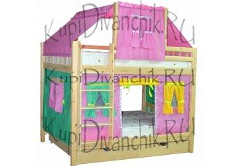 Двухъярусная кровать Скворушка-4